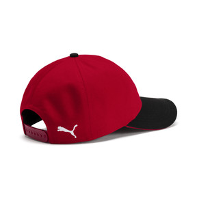 Thumbnail 2 of AC Milan Training Cap, Tango Red-Puma Black, medium