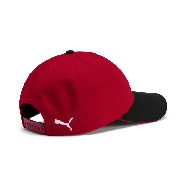 AC Milan Training Cap, Tango Red-Puma Black, large