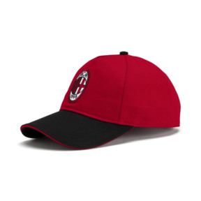 Thumbnail 1 of AC Milan Training Cap, Tango Red-Puma Black, medium