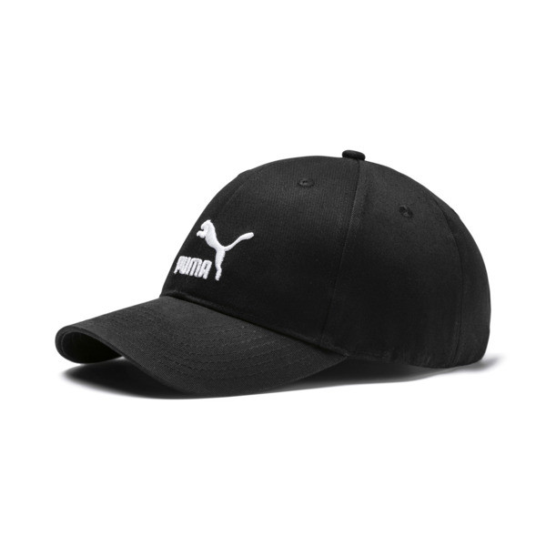 Archive Logo Baseball Cap, Puma Black, large