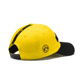 Thumbnail 2 of BVB Fan Cap, Puma Black-Cyber Yellow, medium