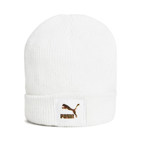 Thumbnail 1 of PUMA x KENZA Lux Women's Beanie, Puma White, medium