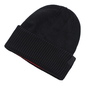 Thumbnail 2 of Scuderia Ferrari LS Classic Beanie, Puma Black, medium