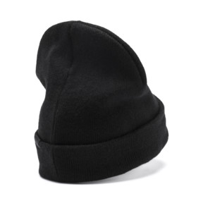 Thumbnail 2 of SG x PUMA WOMEN'S STYLE BEANIE, Puma Black, medium-JPN