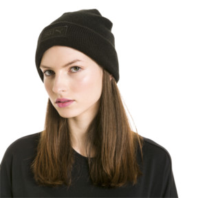 Thumbnail 7 of SG x PUMA WOMEN'S STYLE BEANIE, Puma Black, medium-JPN