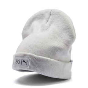 Thumbnail 1 of SG x PUMA Style Beanie, Glacier Gray, medium