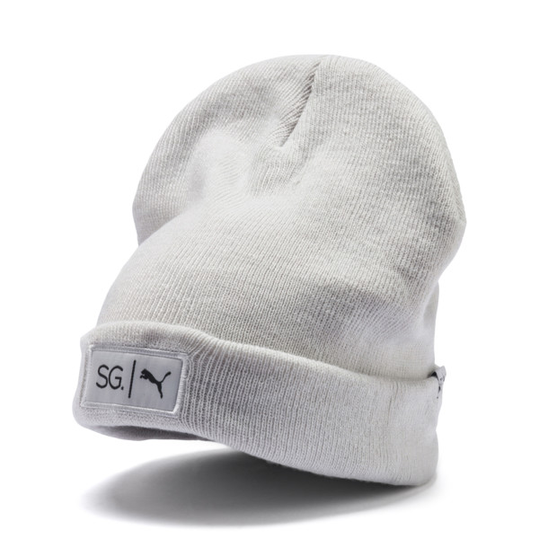 SG x PUMA Style Beanie, Glacier Gray, large