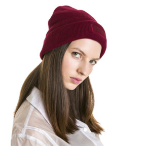 Thumbnail 4 of PUMA x SELENA GOMEZ Women's Beanie, Cordovan, medium