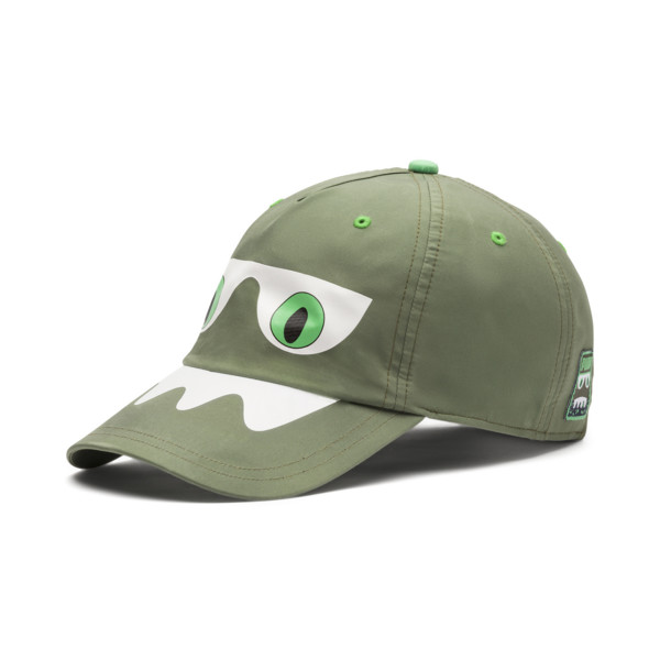Monster Kids' Baseball Cap, Olivine, large
