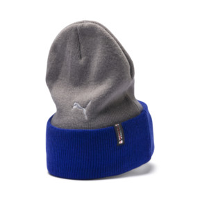 Thumbnail 2 of PUMA x TRANSFORMERS Beanie, Gray Violet-Dazzling Blue, medium
