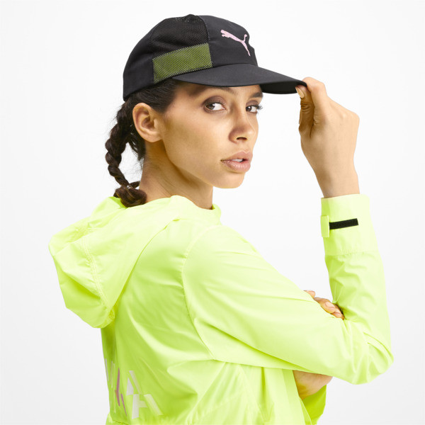 Shift Women's Performance Cap, Puma Black, large