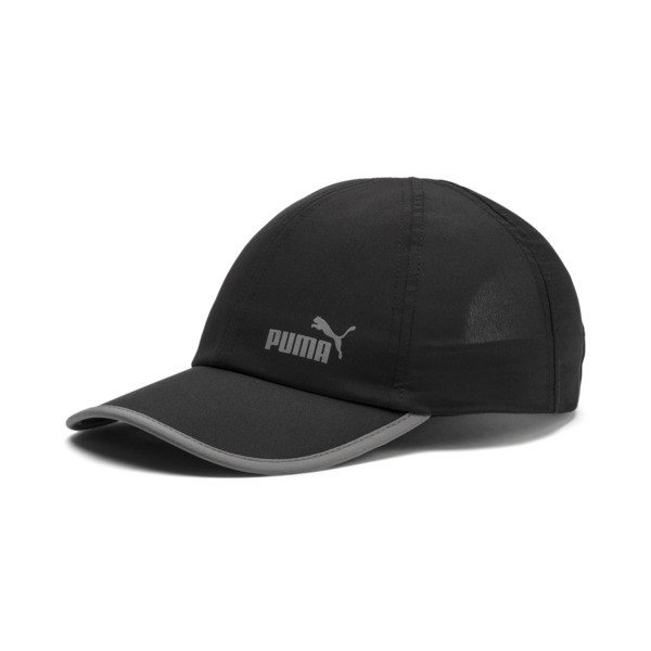 ESS Running Cap, Puma Black-No. 1, large