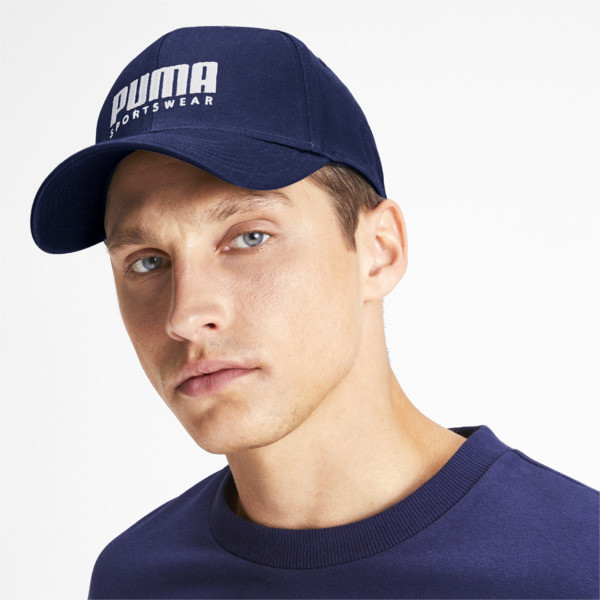 Stretchfit Baseball Cap, Peacoat, large