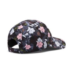 Thumbnail 2 of Women's Style Baseball Cap, Puma Black-floral AOP, medium