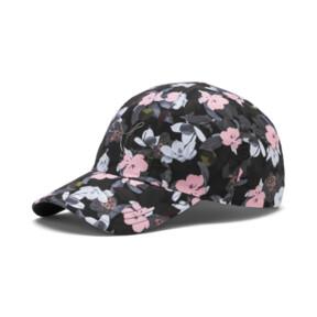 Thumbnail 1 of Women's Style Baseball Cap, Puma Black-floral AOP, medium
