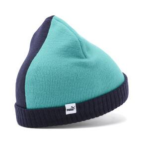 Miniatura 2 de Gorro de lana Minicats para niño, Peacoat-Blue Turquoise, mediano