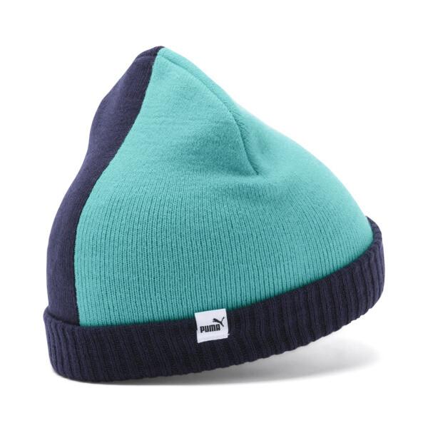 Gorro de lana Minicats para niño, Peacoat-Blue Turquoise, grande