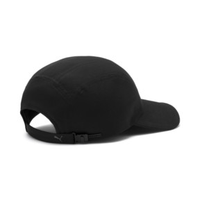 Thumbnail 3 of Curved 6 Panel Cap, Puma Black, medium