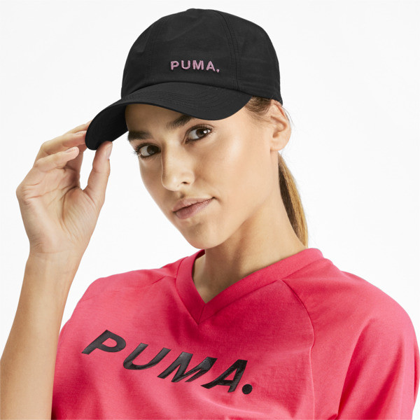 Shift Women's Cap, Puma Black-Bridal Rose, large