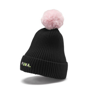 Thumbnail 1 of Evolution Shift Women's Beanie, Puma Black-Bridal Rose, medium