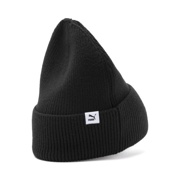 Hybrid Fit Damen Beanie, Puma Black, large