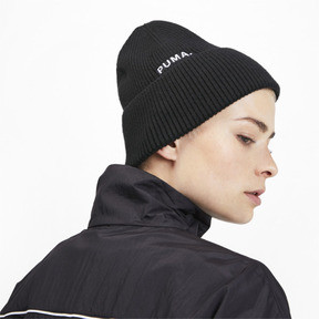 Thumbnail 2 of Hybrid Fit Damen Beanie, Puma Black, medium