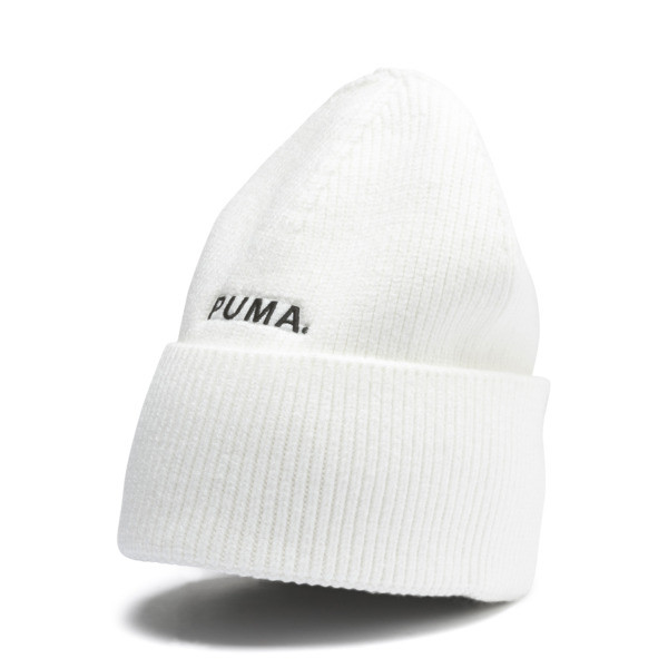 Hybrid Fit Trend Beanie, Puma White, large