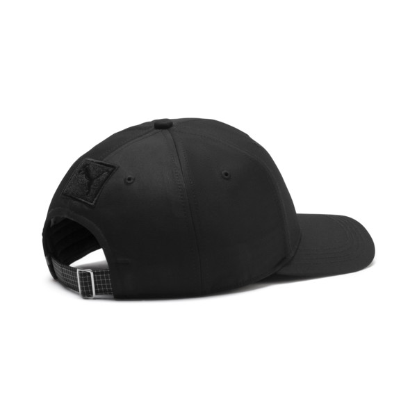 BMW M Motorsport Baseball Cap, Puma Black, large