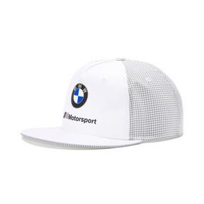 Thumbnail 1 of BMW M Motorsport Flat Brim Cap, Puma White, medium