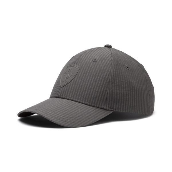 Scuderia Ferrari Lifestyle Baseball Cap, Charcoal Gray, large