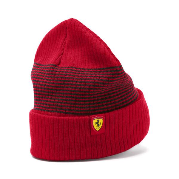 Scuderia Ferrari Fanwear Beanie, Rosso Corsa, large