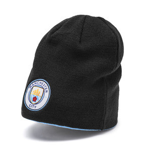 Gorro reversible Man City