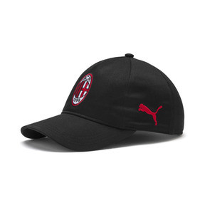 Thumbnail 1 of Casquette d'entraînement AC Milan, Puma Black-Tango Red, medium