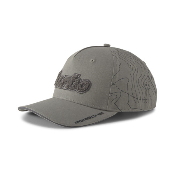 puma porsche legacy baseball cap in ultra grey, size adult