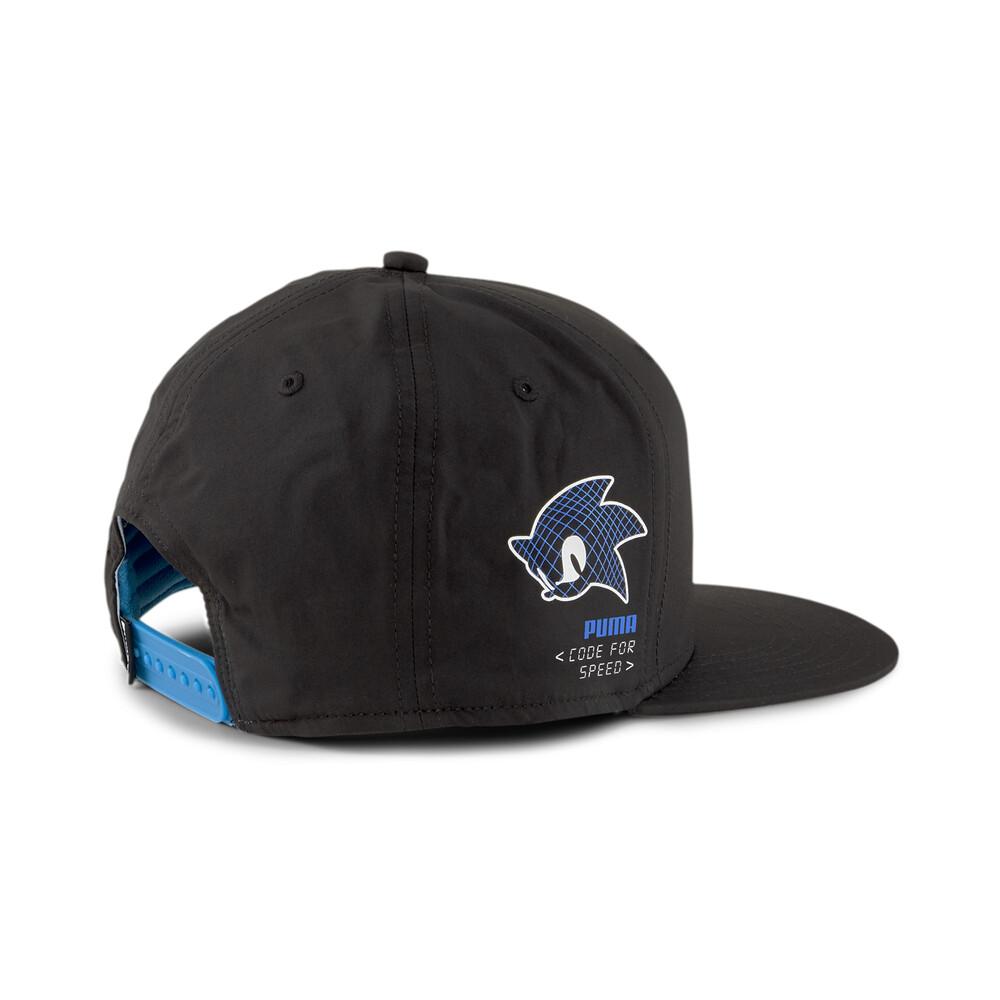 Изображение Puma Детская кепка PUMA X SEGA Flatbrim Cap #2