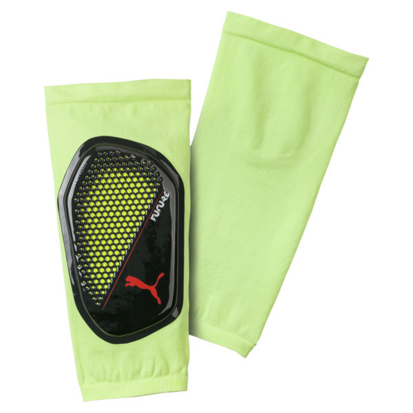 FUTURE 18.1 Shin Guards, Fizzy Yellow-Red Blast-Black, large