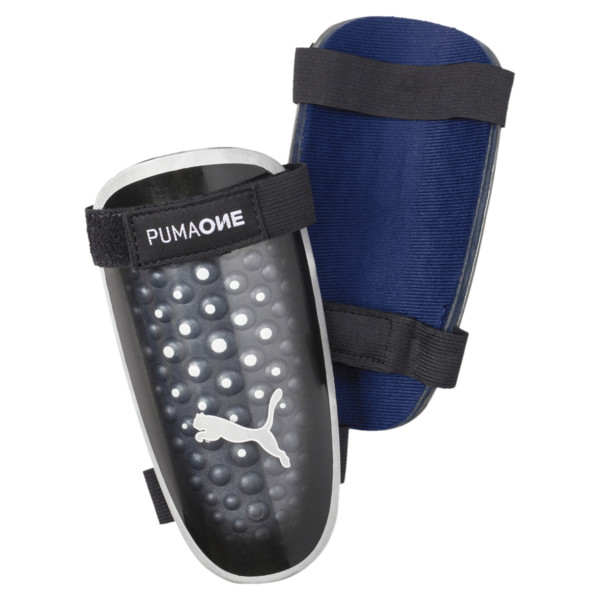 PUMA ONE 5 Shinpads, Blue-Black-Yellow, large