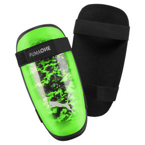 Thumbnail 1 of PUMA ONE 5 Shinpads, Green Gecko-Black-Gray, medium