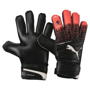 Thumbnail 1 of evoPOWER Protect 3.3 Goalkeeper Gloves, Fiery Coral-Black-White, medium