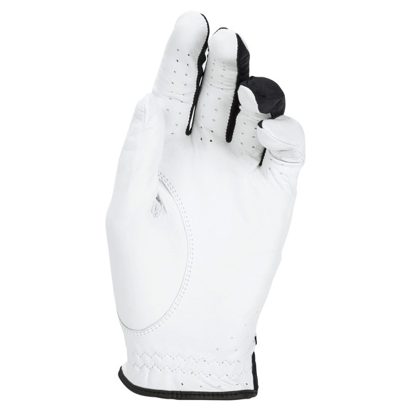Golf Men's Pro Formation Left Hand Glove, Bright White-Puma Black, large