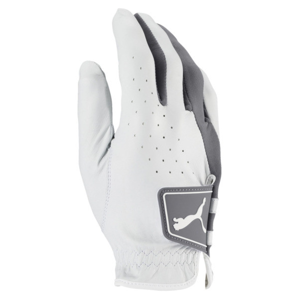 Golf Men's Pro Formation Right Hand Glove, Bright White-QUIET SHADE, large