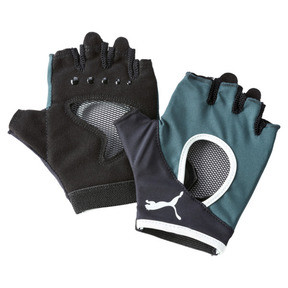 Thumbnail 1 of Women's Training Gym Gloves, Ponderosa Pine-FAIR AQUA, medium