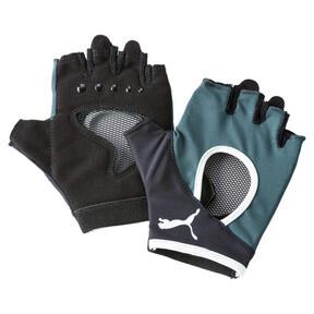 Anteprima 1 di Women's Training Gym Gloves, Ponderosa Pine-FAIR AQUA, medio