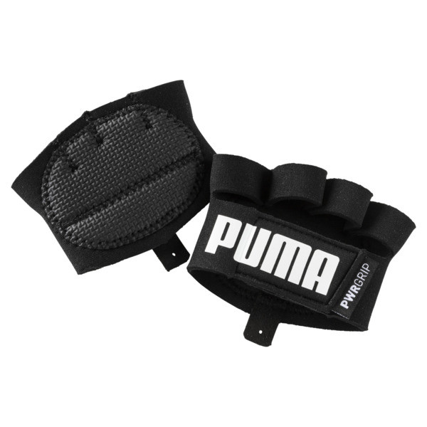 Essential Training Grip Gloves, Puma Black-Puma White, large