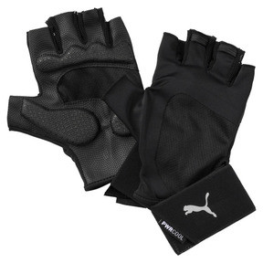 Thumbnail 1 of Training Men's Essential Premium Gloves, Puma Black-Gray Violet, medium