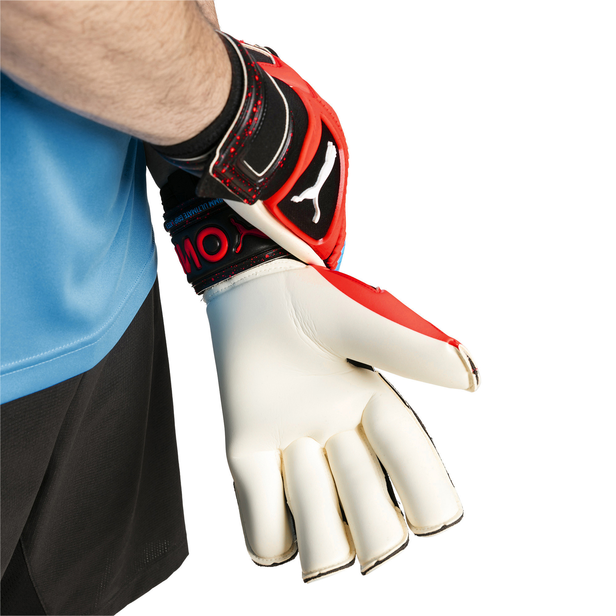 Image Puma PUMA ONE Grip 1 Hybrid Pro Goalkeeper Gloves #3