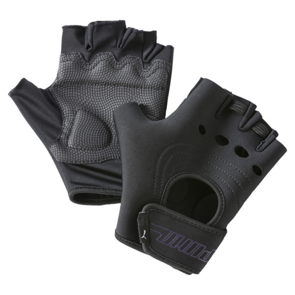 Women's Cosmic Gym Gloves, Puma Black, large