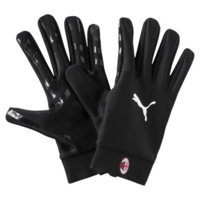 Thumbnail 1 of AC Milan Field Player's Gloves, Puma Black, medium