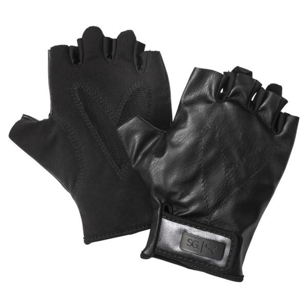 SG x PUMA Style Gloves, Puma Black, large