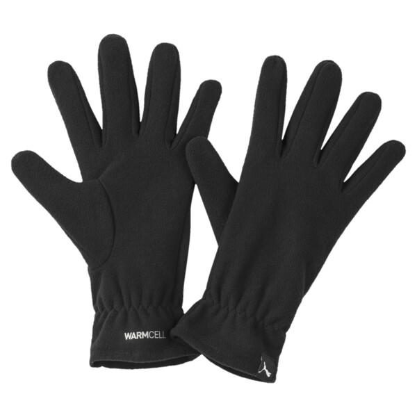 PUMA Fleece Gloves, Puma Black, large